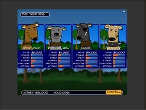 Untuk mainin game nya, baru pertama masuk gambarnya begini:
