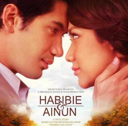Habibie & Ainun yang menceritakan hubungannya dengan Hasri Ainun dari