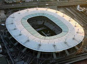 Le Stade de France, vue aerienne