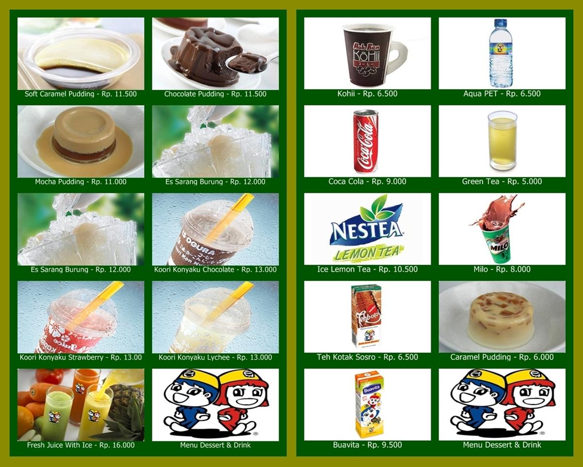 Daftar Harga Hoka Hoka Bento Terbaru
