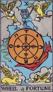 10. The Wheel of Fortune