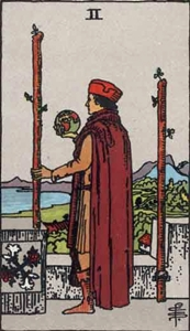 23. Two of Wands