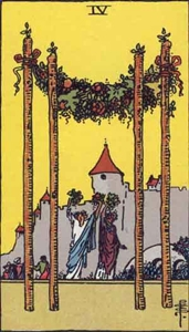 25. Four of Wands