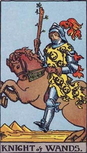 33. Knight of Wands