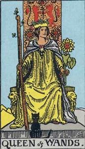 34. Queen of Wands