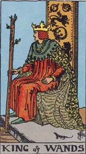 35. King of Wands