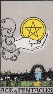 36. Ace of Pentacles