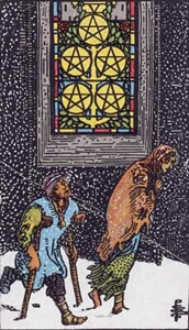 40. Five of Pentacles