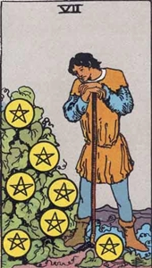 42. Seven of Pentacles