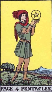 46. Page of Pentacles