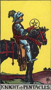 47. Knight of Pentacles