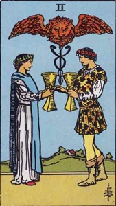 51. Two of Cups