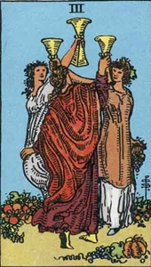 52. Three of Cups