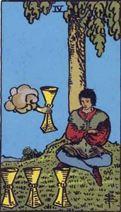 53. Four of Cups