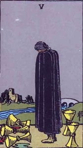 54. Five of Cups