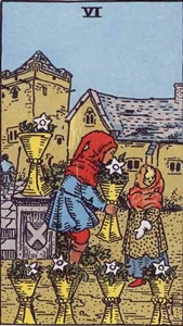 55. Six of Cups