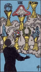 56. Seven of Cups