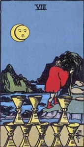 57. Eight of Cups