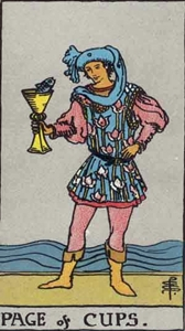 60. Page of Cups