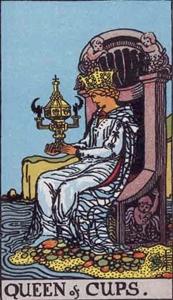 62. Queen of Cups