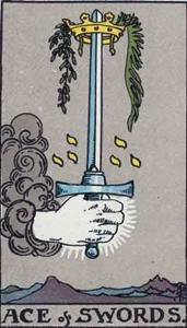 64. Ace of Swords