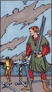 68. Five of Swords