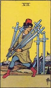70. Seven of Swords