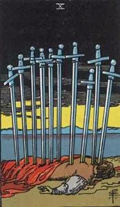 73. Ten of Swords