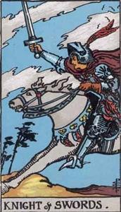 75. Knight of Swords