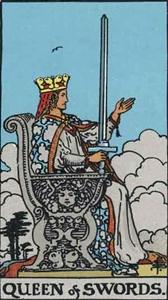 76. Queen of Swords