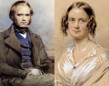 Darwin and wife 1