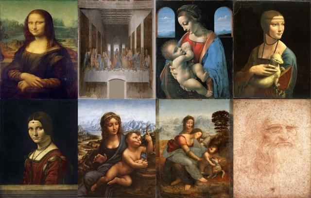 Leonardo Da Vinci Paintings
